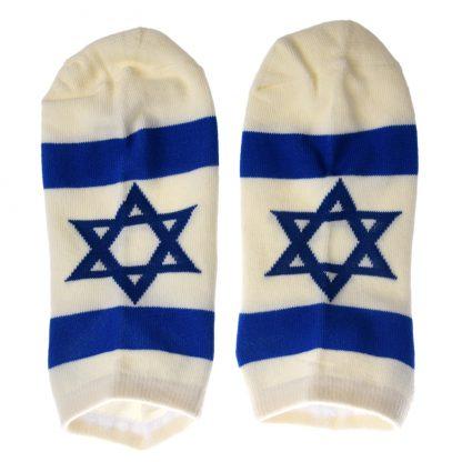 Sokken met vlag van Israël