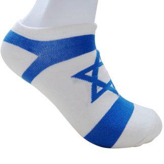 Sok met vlag van Israël
