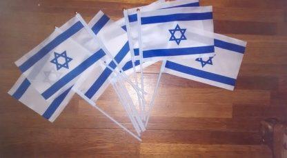 Vlaggetjes Israël
