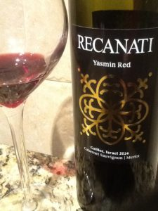 Koosjere wijn Yasmin Red